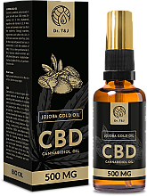 Voňavky, Parfémy, kozmetika Prírodný jojobový olej CBD 500mg - Dr. T&J Bio Oil