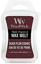 Voňavky, Parfémy, kozmetika Voňavý vosk - WoodWick Wax Melt Black Plum Cognac