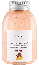 "Voňavky, Parfémy, kozmetika Šumivá soľ do kúpeľa ""Mango"" - Kanu Nature Mango Fizzing Bath Salt"