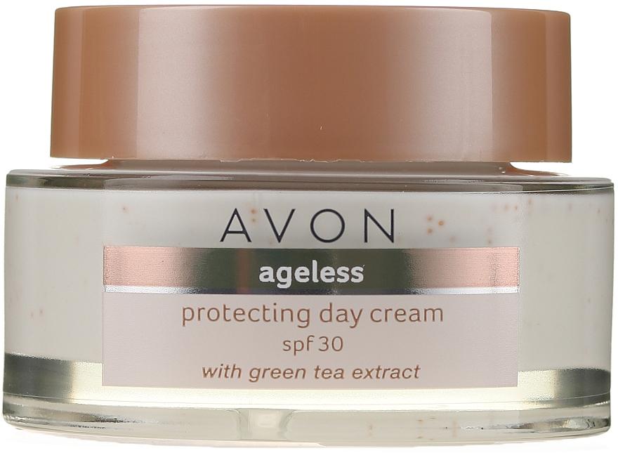 Denný ochranný krém na tvár s extraktom zo zeleného čaju - Avon Ageless Protacting Day Cream SPF 30 — Obrázky N2