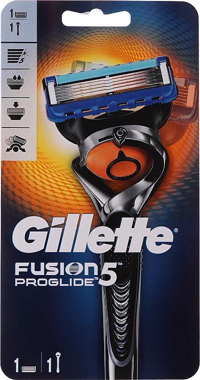 Holiaci strojček s 1 vymeniteľnou kazetou - Gillette Fusion ProGlide Flexball