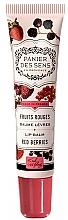 Voňavky, Parfémy, kozmetika Balzam na pery s bambuckým maslom Červené bobule - Panier des Sens Lip Balm Shea Butter Red Berries