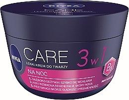 Voňavky, Parfémy, kozmetika Ľahký nočný krém na tvár - Nivea Care Night Light Face Cream