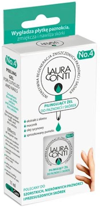 Zmäkčujúci gél s jemným exfoliačným účinkom na kožičku a nechty - Laura Conti — Obrázky N1