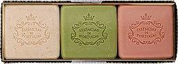 Voňavky, Parfémy, kozmetika Sada - Essencias De Portugal Aromas Collection Winter Set (soap/3x80g)