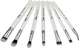 Voňavky, Parfémy, kozmetika Súprava štetcov - Nanshy Eye Brush Set P. White (Brush/7ks)