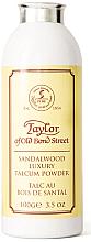 Voňavky, Parfémy, kozmetika Taylor of Old Bond Street Sandalwood Luxury Talcum Powder - Mastenec