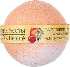 """Voňavky, Parfémy, kozmetika Šimivá bamba do kúpeľa """"Citrusový sorbet"""" - Le Cafe de Beaute Bubble Ball Bath"""