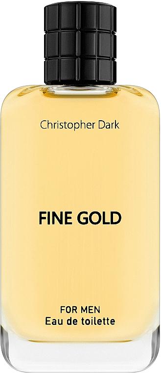 Christopher Dark Fine Gold - Toaletná voda