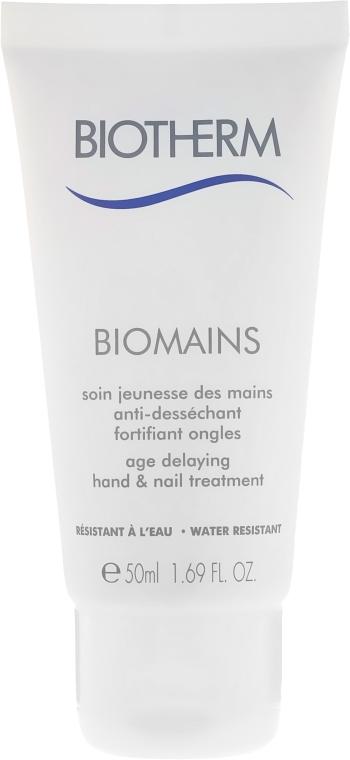 Krém na ruky - Biotherm Biomains Age Delaying Hand & Nail Treatment — Obrázky N1