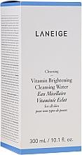 Voňavky, Parfémy, kozmetika Micelárna rozjasňujúca voda pre všetky typy pleti - Laneige Vitamin Brightening Cleansing Water