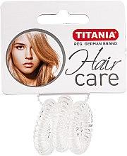 Voňavky, Parfémy, kozmetika Gumička do vlasov Anti Ziep, priehľadná - Titania