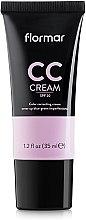 Voňavky, Parfémy, kozmetika CC krém na maskovanie tmavých kruhov pod očami a škvrny na pokožke - Flormar CC Cream Anti-Dark Circles