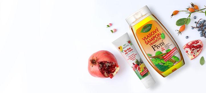Pri nákupe produktov Bione Cosmetics v hodnote vyše 12 € získaj krém na ruky ako darček