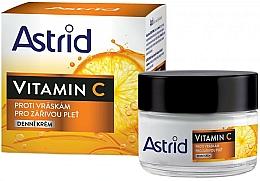 Voňavky, Parfémy, kozmetika Denný krém proti vráskam s vitamínom C - Astrid Vitamin C Daily Anti-Wrinkle Cream