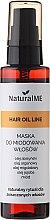 Voňavky, Parfémy, kozmetika Sprejová maska na vlasy medová - NaturalME Hair Oil Line