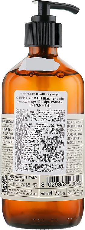 Šampón proti lupinám pre suchú pokožku hlavy - Oway Purifying Hair Bath Dry Scalps — Obrázky N2