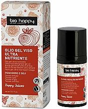 Voňavky, Parfémy, kozmetika Gél na tvár s paradajkovým a goji olejom - Bio Happy Face Gel Oiltomato And Goji Berry