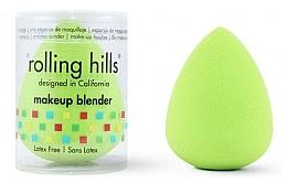 Voňavky, Parfémy, kozmetika Hubka na make-up, zelená - Rolling Hills Makeup Blender Green
