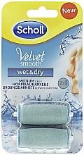 Voňavky, Parfémy, kozmetika Vymeniteľné valce na elektrický súbor - Scholl Velvet Smooth Wet&Dry