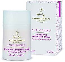 Voňavky, Parfémy, kozmetika Protistarnúci výživný krém na tvár - Aromatherapy Associates Anti-Ageing Rich Repair Nourishing Cream