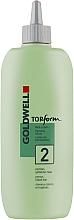 Voňavky, Parfémy, kozmetika Ondulácia pre pórovité alebo farbené vlasy - Goldwell Topform 2