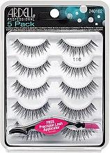Voňavky, Parfémy, kozmetika Sada falošných rias - Ardell 5 Pack 110 Natural Black Lashes