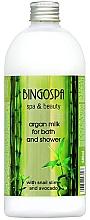 Voňavky, Parfémy, kozmetika Arganové kúpacie mlieko s avokádom - BingoSpa