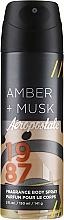 Sprej na telo - Aeropostale Amber + Musk Fragrance Body Spray — Obrázky N1