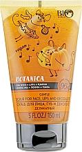 Voňavky, Parfémy, kozmetika Scrub na tvár, pery a dekolt Chia semienka, luffa, tekvica - Bio World Botanica Scrub