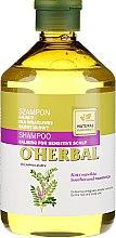 Voňavky, Parfémy, kozmetika Šampón s výťažkom sladkého drievka pre citlivú pokožku hlavy - O'Herbal