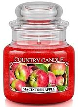Voňavky, Parfémy, kozmetika Vonná sviečka v pohári  - Country Candle Macintosh Apple