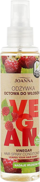 "Kondicionér v spreji na vlasy ""Malinový ocot"" - Joanna Vegan Vinegar Hair Spray Conditioner"