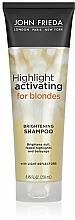 Voňavky, Parfémy, kozmetika Hydratačný aktivačný šampón - John Frieda Sheer Blonde Highlight Activating Moisturising Shampoo
