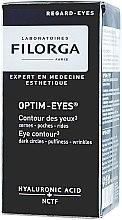 Voňavky, Parfémy, kozmetika Prostriedok pre kontúry očí proti kruhom, váčkom a vráskam - Filorga Optim-Eyes