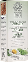 Voňavky, Parfémy, kozmetika Lotion na zosvetlenie vlasov s harmančekovým extraktom - Intea Body Hair Lightening Spray With Natural Camomile Extract