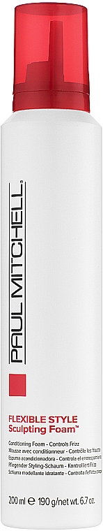 Stylingová pena na vlasy - Paul Mitchell Flexible Style Sculpting Foam — Obrázky N1
