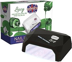 Voňavky, Parfémy, kozmetika Lampa CCFL+LED, čierna - Ronney Profesional Lucy CCFL + LED 38W (GY-LCL-021) Lamp