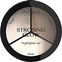 Voňavky, Parfémy, kozmetika Paleta pre strobing - Ingrid Cosmetics Strobing Glow Palette