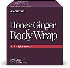 Voňavky, Parfémy, kozmetika Medovo- zázvorový celulitídový zábal - Natura Siberica Fresh Spa Kam-Chat-Ka Honey Ginger Body Wrap
