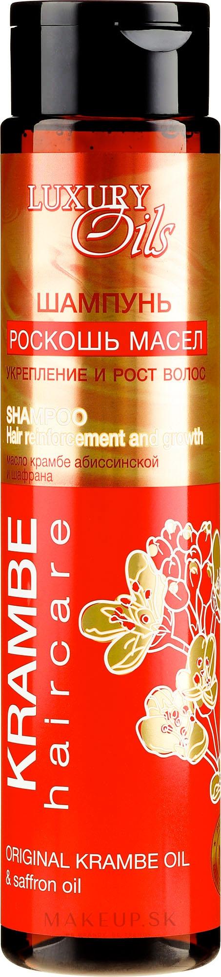 """Šampón """"Posilnenie a rast"""" s organickým habešským a šafránovým olejom - Argan Haircare — Obrázky 350 ml"""
