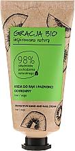 Voňavky, Parfémy, kozmetika Ochranný krém na ruky a nechty s kivovým extraktom - Gracla Bio Protective Hand And Nail Cream Kiwi