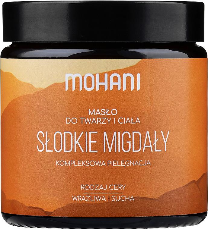 """Olej na tvár a telo """"Mandle"""" - Mohani Almond Rich Batter"""