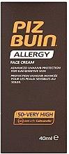 Voňavky, Parfémy, kozmetika Opaľovací krém pre tvár - Piz Buin Allergy Face Cream SPF50