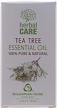 """Voňavky, Parfémy, kozmetika Éterický olej """"Čajové drevo"""" - Bulgarian Rose Herbal Care Tea Tree Essential Oil"""