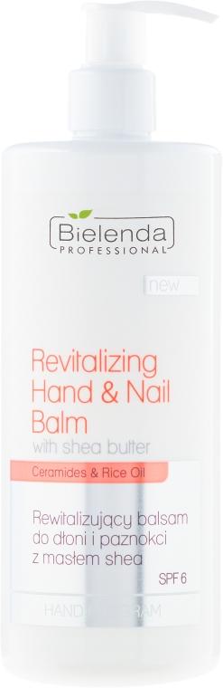 Revitalizačný balzam na ruky a nechty - Bielenda Professional Hand Program Revitalizing Hand & Nail Balm SPF 6