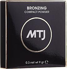 Voňavky, Parfémy, kozmetika Bronzujúci púder na tvár - MTJ Cosmetics Bronzing Compact Powder