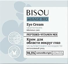 """Voňavky, Parfémy, kozmetika Krém na pokožku okolo očí """"Multivitamín mladosti"""" - Bisou AntiAge Bio Eye Cream"""