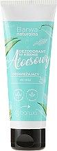 Voňavky, Parfémy, kozmetika Osviežujúci dezodorant v kréme na nohy - Barwa Natural Aloe Deodorant Cream