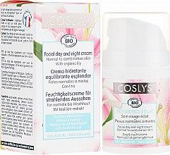 Voňavky, Parfémy, kozmetika Denný krém na tvár s extraktom ľalie pre normálnu a kombinovanú pleť - Coslys Facial Care Facial Day CreamWith Lily Extract